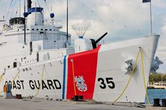 USCGC Ingrahm, Key West Royalty Free Stock Images