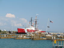 USCGC Mackinaw Stockbild