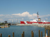 USCGC Mackinaw Stockfoto