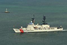 USCGC Midgett (WHEC-726). The U.S. Coast Guard High Endurance Cutter Midgett Stock Photography