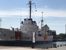 USCGC Taney in Baltimore, Maryland Stock Foto's