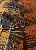 Uscita d'emergenza di bobina Fotografia Stock
