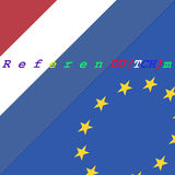 Uscita olandese UE Immagini Stock Libere da Diritti