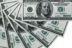 USD achtergrond Royalty-vrije Stock Foto's