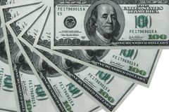 USD background. Composite shot of different American Dollar background Royalty Free Stock Photos