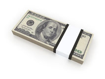 USD bills Royalty Free Stock Photo