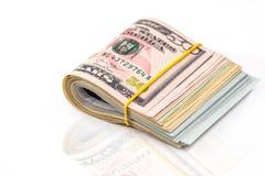 50 usd de dólares Imagem de Stock