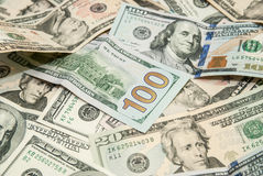 USD-dollarsrekening voor achtergrondtextuur Royalty-vrije Stock Afbeeldingen