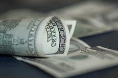 Usd nota's Royalty-vrije Stock Afbeelding