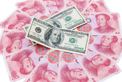 USD AND RMB Royalty Free Stock Image