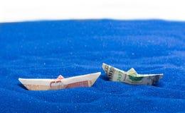 USD和GBP 免版税库存照片