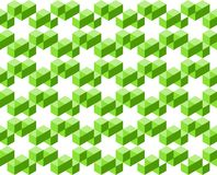 Abstract geometric pattern of green colors isolated on white background, arranged in star shapes- Vector illustration, EPS10. Use as background, backdrop, image Royalty Free Stock Photos