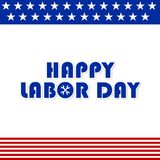 LABOR DAY IMAGE WITH USA FLAG THEME. USE IT FOR BACKGROUND IMAGE AND ALSO PROMOTE ON SOCIAL MEDIA Royalty Free Stock Photography