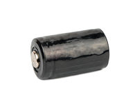 Use black battery Royalty Free Stock Photos