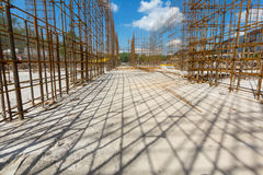 Use dodatek specjalny struktury dla budowy mieszkaniowy dom Zdjęcia Stock
