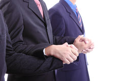 Use hand for union together Royalty Free Stock Photography