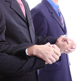 Use hand for union together Stock Image