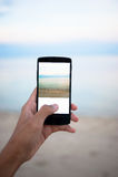 Use mobile phone Stock Photos