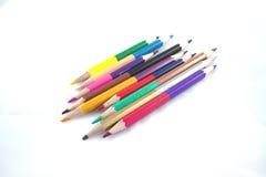Use o lápis colorido Imagem de Stock