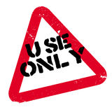 Use Only rubber stamp Royalty Free Stock Photo