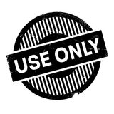 Use Only rubber stamp Royalty Free Stock Photography