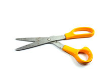 Through the use of scissors Royalty Free Stock Photography