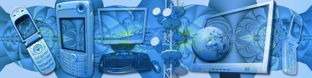 Use seus media creativamente Imagens de Stock