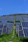 The use of solar energy Royalty Free Stock Images