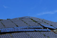 The use of solar energy Stock Images