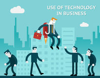Use of technology in business Stock Photos
