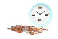 Use time and money for cure concept Royalty Free Stock Photography