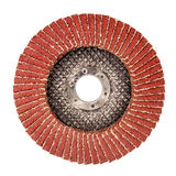 Used abrasive disk for grinder Stock Images