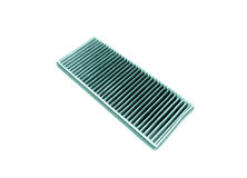 Used air filter for car  on white background Royalty Free Stock Photography