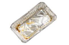 Used aluminium foil Stock Image