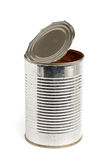 Used aluminum can Stock Photo