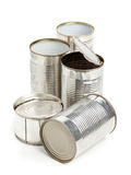 Used aluminum cans Royalty Free Stock Photo