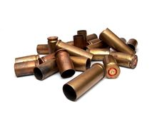 Used ammunition Stock Image