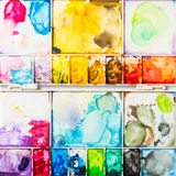 Used art palette Royalty Free Stock Photography