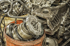 Used Auto Parts Stock Images
