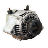 Used automobile generator or Dynamo isolated Royalty Free Stock Images