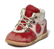 Used baby shoe Stock Photo