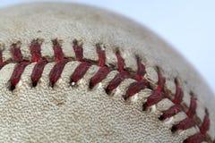 Used baseball isolated on white. Background macro shot Royalty Free Stock Photos