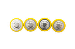 Used batteries Royalty Free Stock Image
