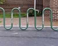 Used Bike Rack Stock Photography