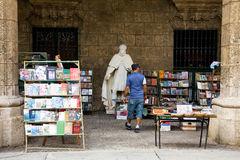 Used book market, Havana Stock Photography