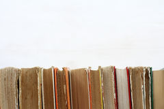 Used book shelf Royalty Free Stock Images