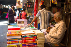 Used Books market, India Royalty Free Stock Image