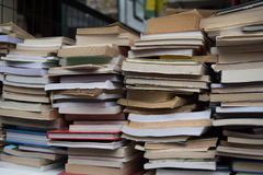 Used books Royalty Free Stock Photo