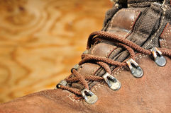 Used boots Royalty Free Stock Photography
