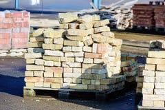 Used bricks Stock Photos